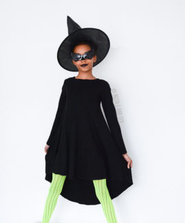Halloween Witch Groove Dress made by Needle and Ted