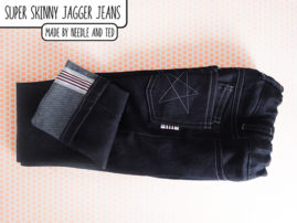 The Jagger jeans made by Needle and Ted