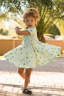 Spin Dress made by Grace Yve Designs