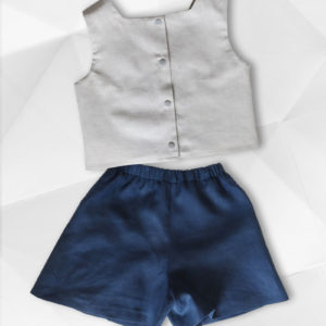 Petal Fold Playsuit SUPPLEMENT