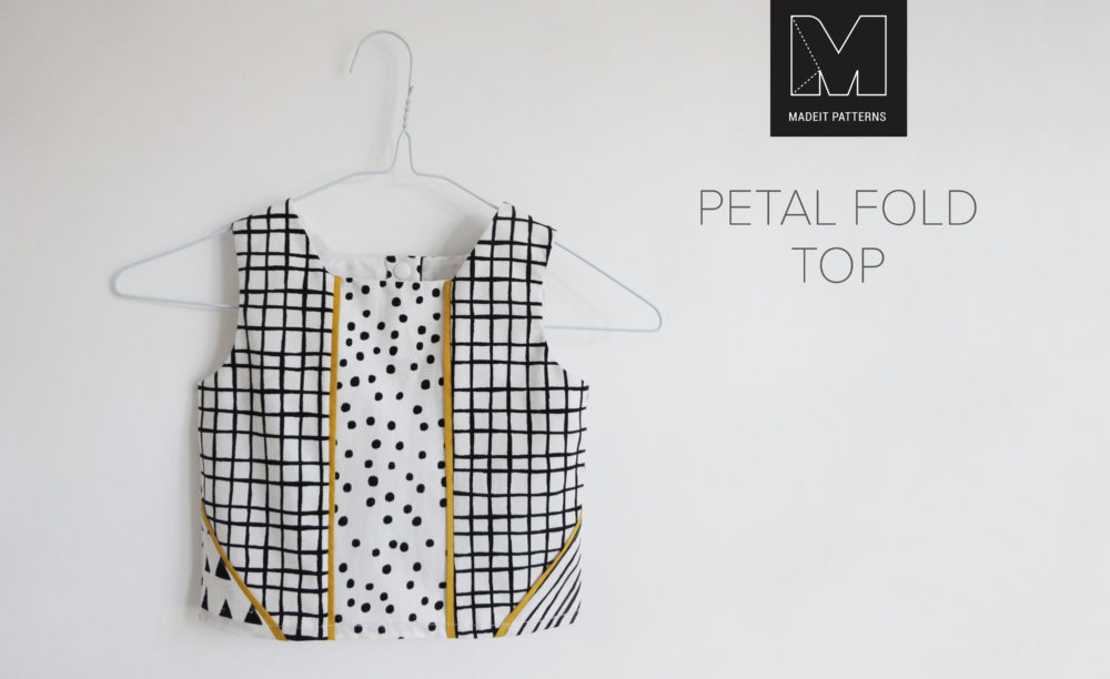 Petal Fold Playsuit SUPPLEMENT Sewing Patterns